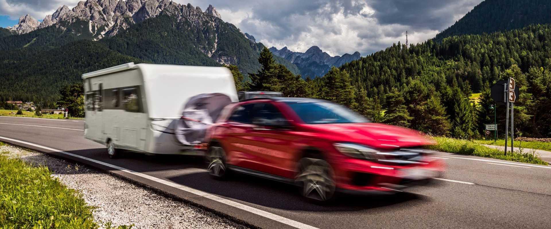 S karavanem, přívěsem po Evropě
