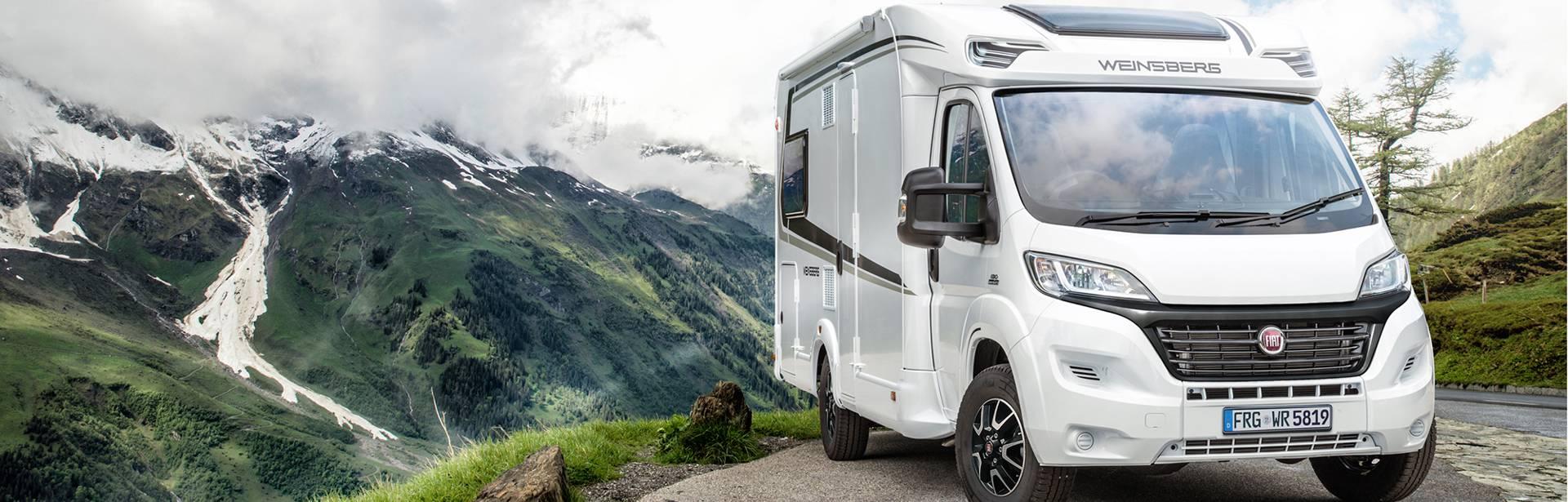 S obytným vozem po Evropě, po horách